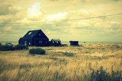 Dungeness rezerwata przyrody Krajowy widok Kent Anglia Zdjęcie Stock