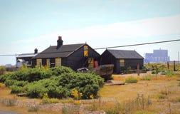 Dungeness rezerwata przyrody Krajowy widok Kent Anglia Fotografia Royalty Free