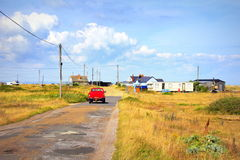 Dungeness road Kent England Royalty Free Stock Photography