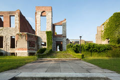 Dungeness-Ruinen auf Cumberland-Insel Lizenzfreie Stockfotos