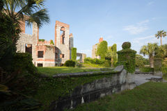 Dungeness-Ruinen auf Cumberland-Insel Lizenzfreies Stockfoto