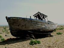 Dungeness-Strand mit Booten, Kent Lizenzfreies Stockfoto