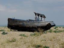 Dungeness-Strand mit Booten, Kent Lizenzfreie Stockfotografie