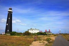 Dungenessvuurtoren Kent United Kingdom stock fotografie