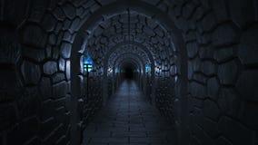 Dungeon assustador escuro ilustração royalty free