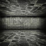 Dungeon de piedra sucio del estilo del juego Imágenes de archivo libres de regalías