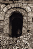 Dungeon Entrance Royalty Free Stock Images