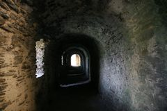 Dungeon-Halle Lizenzfreie Stockbilder