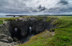Dungeon National Park, Newfoundland, Canada. Royalty Free Stock Photography