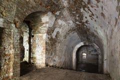 Dungeon piwnica Ukraina obrazy royalty free