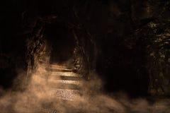 Dungeon sinistro imagem de stock royalty free