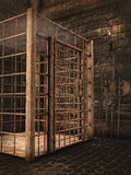 Dungeon velho do castelo Imagem de Stock