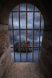 Dungeon window Royalty Free Stock Photo