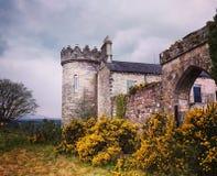 Dungiven slott Royaltyfri Bild
