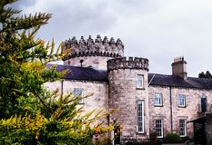 Dungiven slott Arkivfoto
