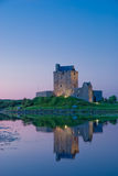 Dunguair Castle. At Sunset, Galway, Ireland Royalty Free Stock Image