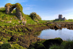 Dunguaire城堡 图库摄影