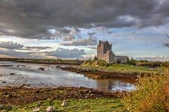城堡dunguaire爱尔兰 免版税图库摄影