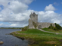 Dunguaire Castle. In County Galway, Ireland on a bright summer day Stock Photography