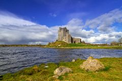 Dunguaire castle in Co. Galway. Ireland Royalty Free Stock Photos