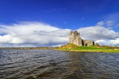 Dunguaire castle in Co. Galway. Ireland Stock Photos