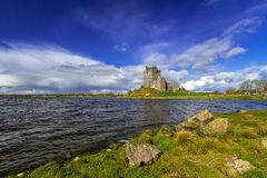 Dunguaire castle in Co. Galway. Ireland Royalty Free Stock Photography