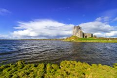 Dunguaire castle in Co. Galway. Ireland Stock Images