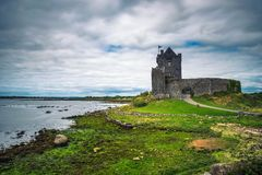 Dunguaire Castle in County Galway near Kinvarra, Ireland royalty free stock photo