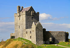 Dunguaire castle in Ireland Royalty Free Stock Photography