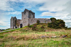 Dunguaire Castle, Ireland. Dunguaire Castle (Irish Dún Guaire), is a 16th-century tower house on the southeastern shore of Galway Bay in County Galway, Ireland Royalty Free Stock Photo
