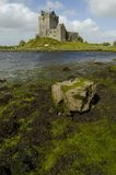 Dunguaire castle. Ireland. Dunguaire Castle is a 16th-century tower house on the southeastern shore of Galway Bay in County Galway, Ireland, near Kinvara Royalty Free Stock Photo
