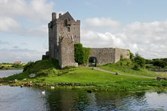 Dunguaire Castle, Ireland. View of the Dunguaire Castle, Kinvara Bay, Galway, Ireland