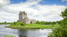 Dunguaire Castle Ireland. A HDR image of the Dunguaire Castle in Ireland Stock Photos