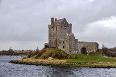 Dunguaire castle Ireland. Dunguaire castle in Kinvara Bay. county Galway, Ireland Royalty Free Stock Photography