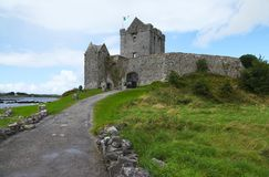 Dunguaire Castle in Ireland. View of Dunguaire Castle in county Galway in Ireland Stock Photos