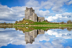 Dunguaire castle near Kinvara Royalty Free Stock Images