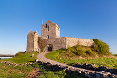Dunguaire castle near Kinvara in Ireland Royalty Free Stock Images