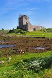 Dunguaire castle near Kinvarra. Famous Dunguaire castle on Galway bay shore. Ireland Stock Images