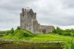 Dunguaire Castle Wide Stock Photography