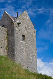 Dunguire Castle. Detail of Dunguire castle in Ireland Stock Image