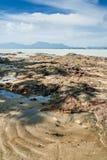 Dungun Beach. View of rocky beach at Dungun, Terengganu Stock Image