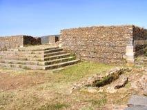 Dungur Palace ruins Stock Image