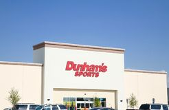 Dunham`s Sports Athletic Store Stock Images