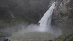 Dunhinda falls , Sri Lanka. Dunhinda falls Badulla District, Sri Lanka stock video