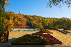 The Dunhua autumn landscape Jilin Stock Images