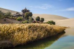 Dunhuang im Herbst Lizenzfreies Stockbild