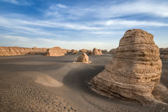 Dunhuang Jadin Geopark Royalty Free Stock Images