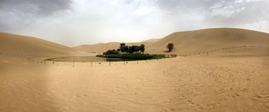 Dunhuang minjian yishumitt arkivfoton
