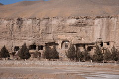 Dunhuang Mogao Grottoes ancient abandoned. Gansu Dunhuang Mogao Grottoes ancient abandoned Royalty Free Stock Photography