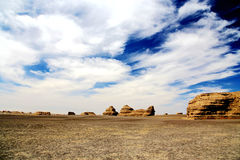 Free Dunhuang Yadan Devil City Stock Images - 97753324